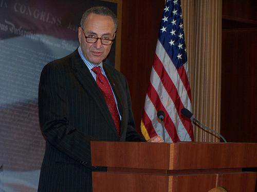 Sen. Chuck Schumer backs decriminalizing marijuana at the federal level