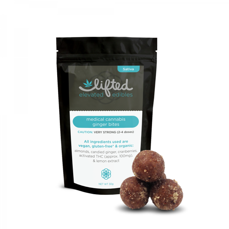 Lifted Edible Ginger Bites